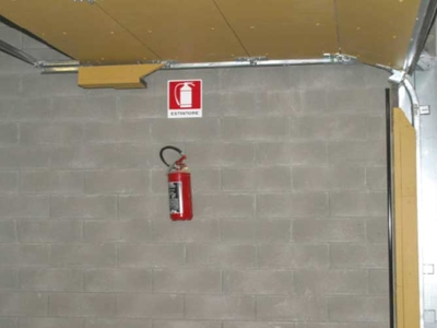accessories for Fire Retardant Sectional Overhead Door