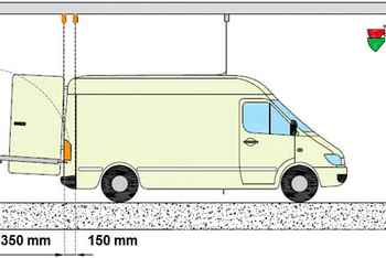 commercial vehicles recessed loading bays