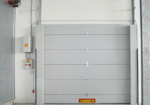 Industrial FIRE RETARDANT SECTIONAL DOORS EI 120