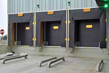 recessed loading bays for cold storage in uk