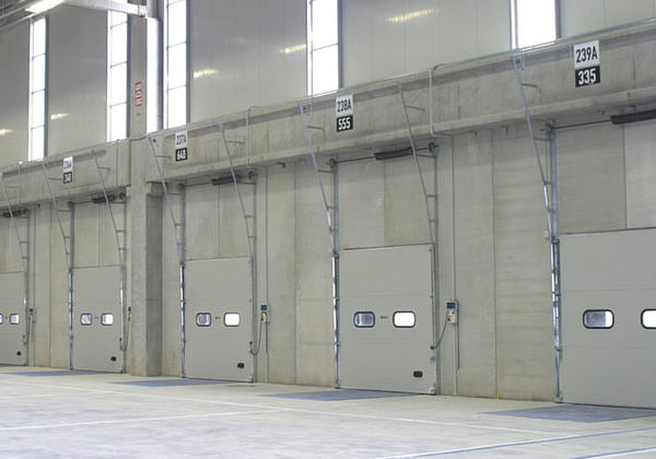 sectional doors Campisa