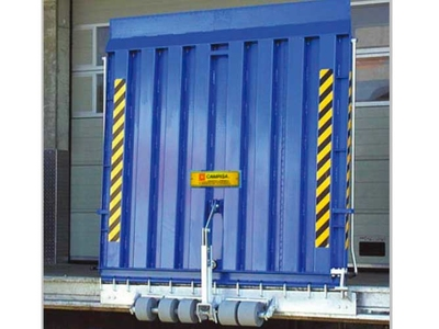 dock rim leveller - loading ramp for loading bays