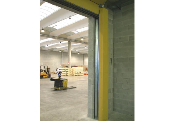 Campisa Fire Retardant Sectional Overhead Door
