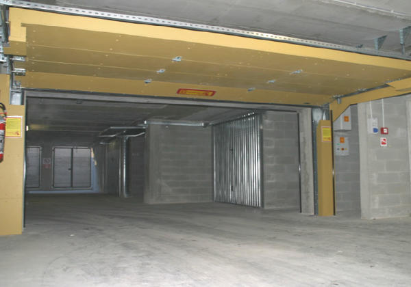 Garage FIRE RETARDANT SECTIONAL DOORS