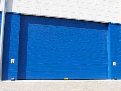 gas tight powering sectional doors
