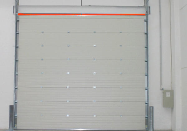 gas-tight sectional doors