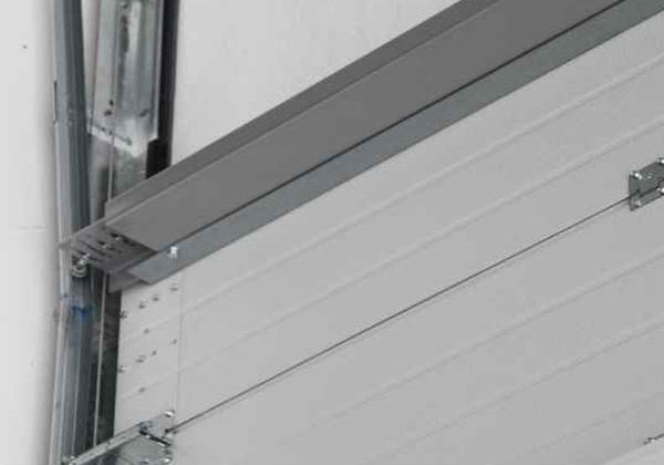 details gas-tight sectional doors