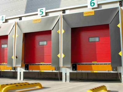 dock house recessed loading bays