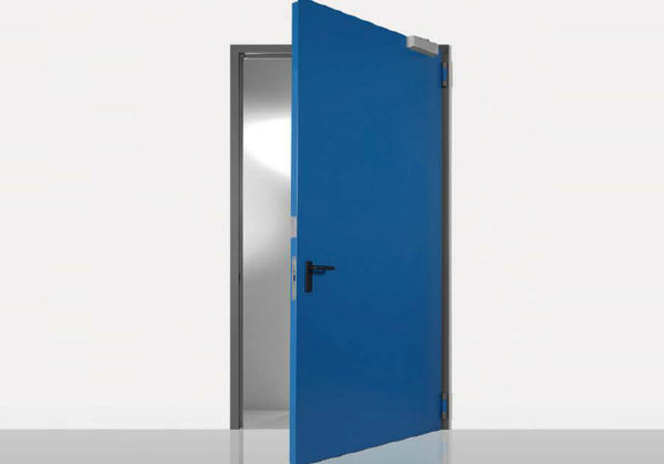 single leaf fire retardant door