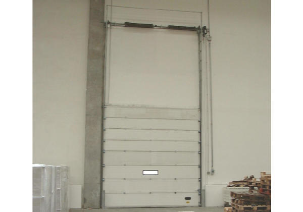 sectional doors powering