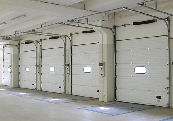 sectional balanced doors