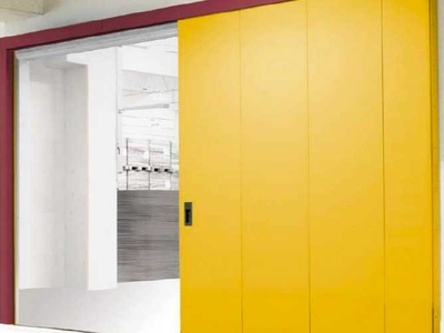 side sliding rigid industrial doors