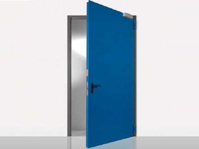 swing resistant rigid industrial doors