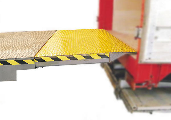 details Telescopic Lip Dock Leveller