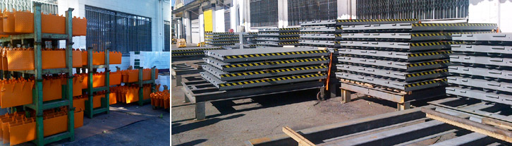 loading bays production